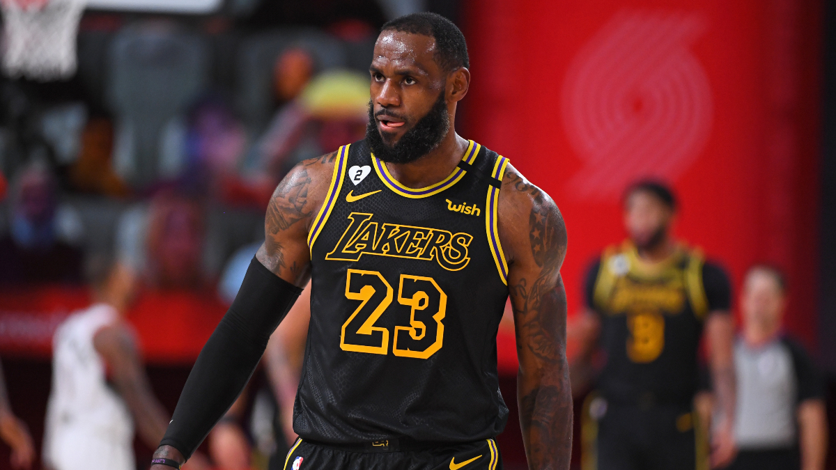 NBA Playoffs Betting Odds, Picks and Predictions: Trail Blazers vs. Lakers Game 5 (Saturday, Aug. 29) article feature image