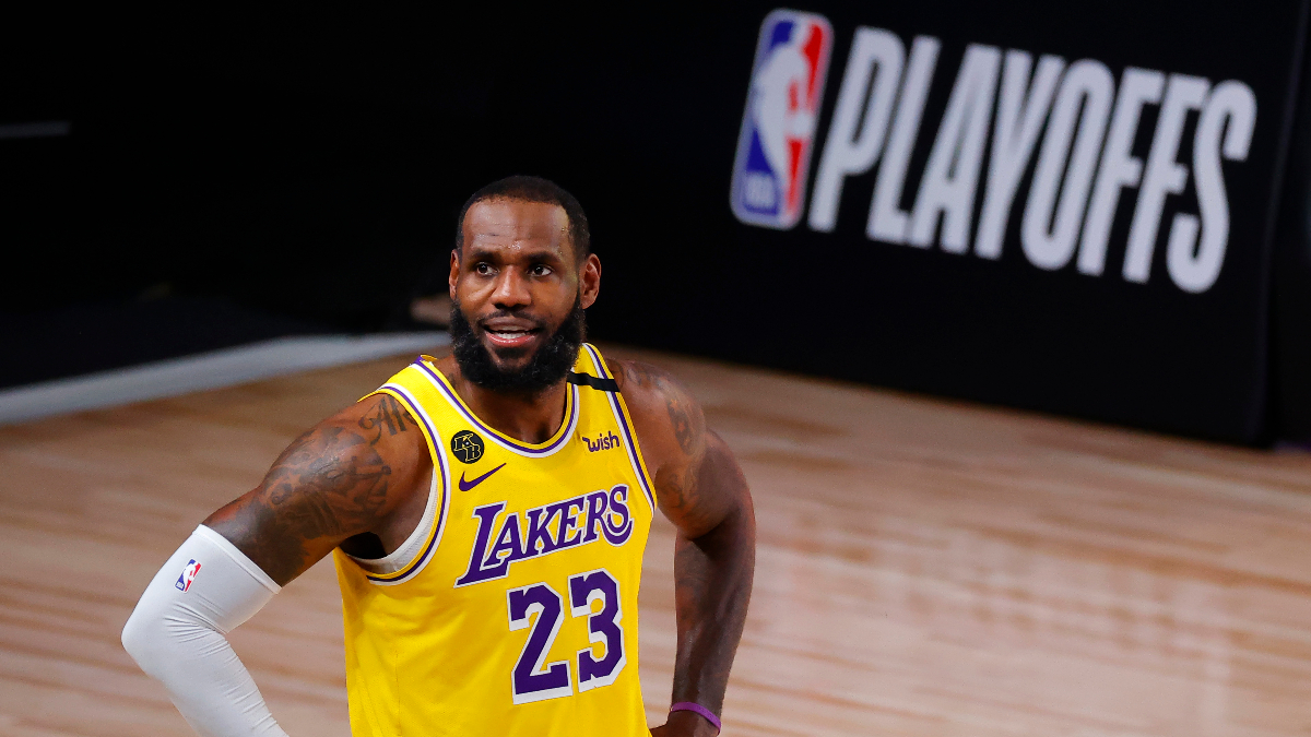 NBA Finals Game 5 Odds & Promo: Bet $20, Win $88 if LeBron Scores 8+ Points! article feature image