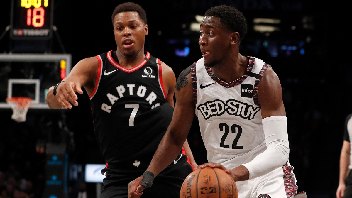 NBA Playoffs Series Odds: Raptors vs. Nets Round 1 Schedule article feature image
