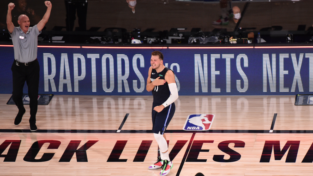 Updated NBA Playoffs Series Odds & Round 1 Schedule: Luka's Game-Winner Hasn't Moved the Odds article feature image
