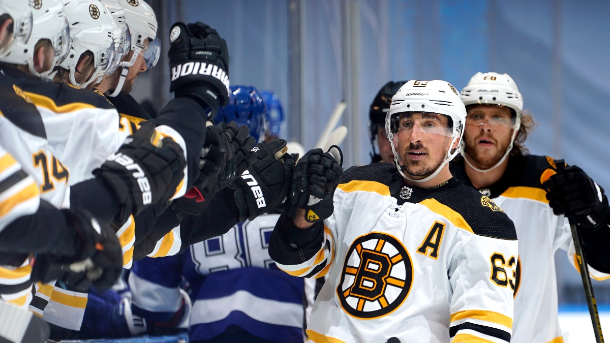 Tuesday NHL Betting Odds, Picks & Predictions: Bruins vs. Lightning Game 2 Preview (August 25) article feature image