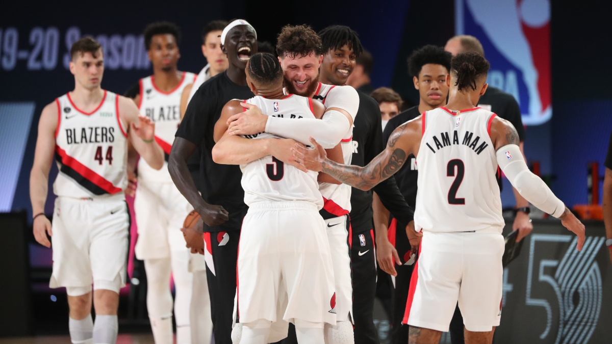 Moore's Tuesday Betting Picks: The Blazers Are Overvalued Against Houston article feature image