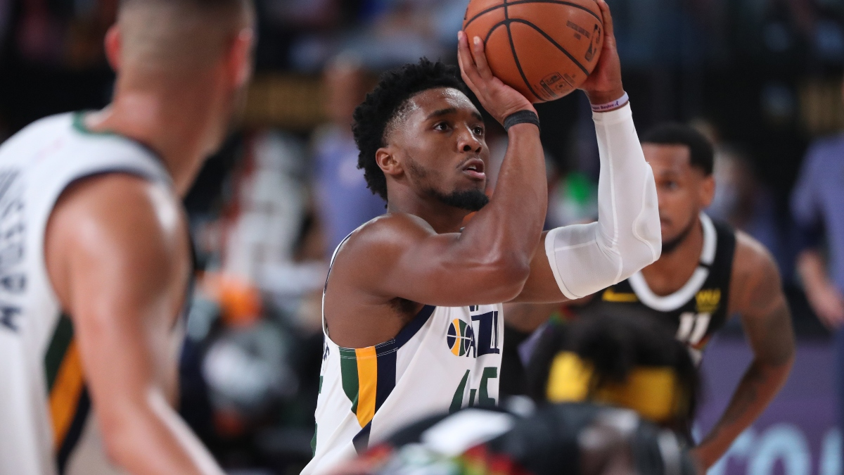 NBA Sharp Betting Pick: Nuggets vs. Jazz Game 3 (Friday, Aug. 21) article feature image