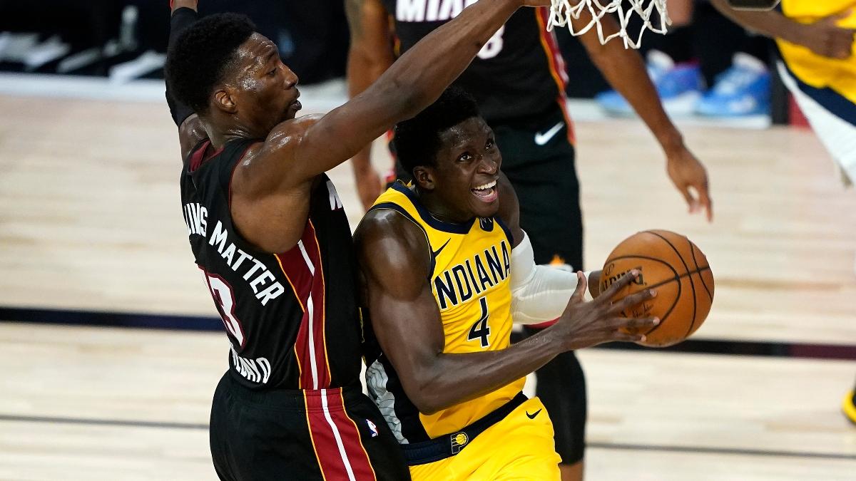 Saturday NBA Sharp Betting Picks: Bucks vs. Magic, Pacers vs. Heat (Aug. 22) article feature image