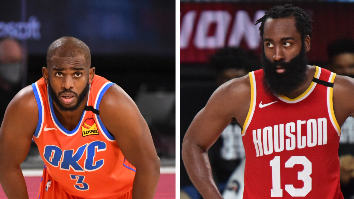 NBA Playoffs Betting Odds, Picks & Predictions: Thunder vs. Rockets Game 7 (Wednesday, Sept. 2) article feature image
