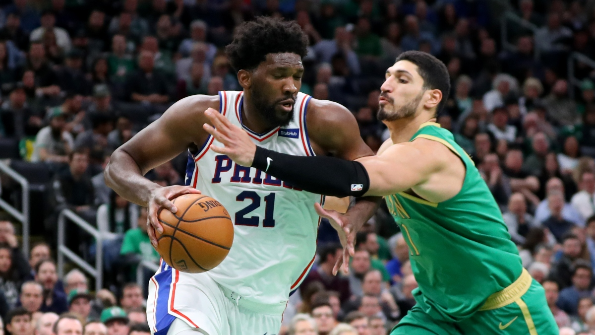 NBA Sharp Betting Pick: 76ers vs. Celtics Game 1 (Monday, August 17) article feature image