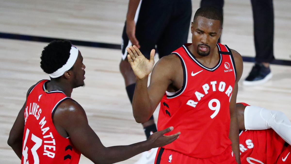 NBA Playoffs Betting Odds, Picks & Predictions: Raptors vs. Nets Game 4 (Sunday, Aug. 23) article feature image