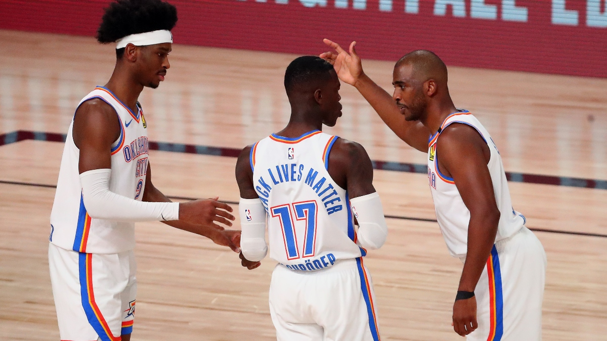 Moore's Angles: Picks & Predictions for Thunder vs. Rockets Game 5 (Wednesday, August 26) article feature image