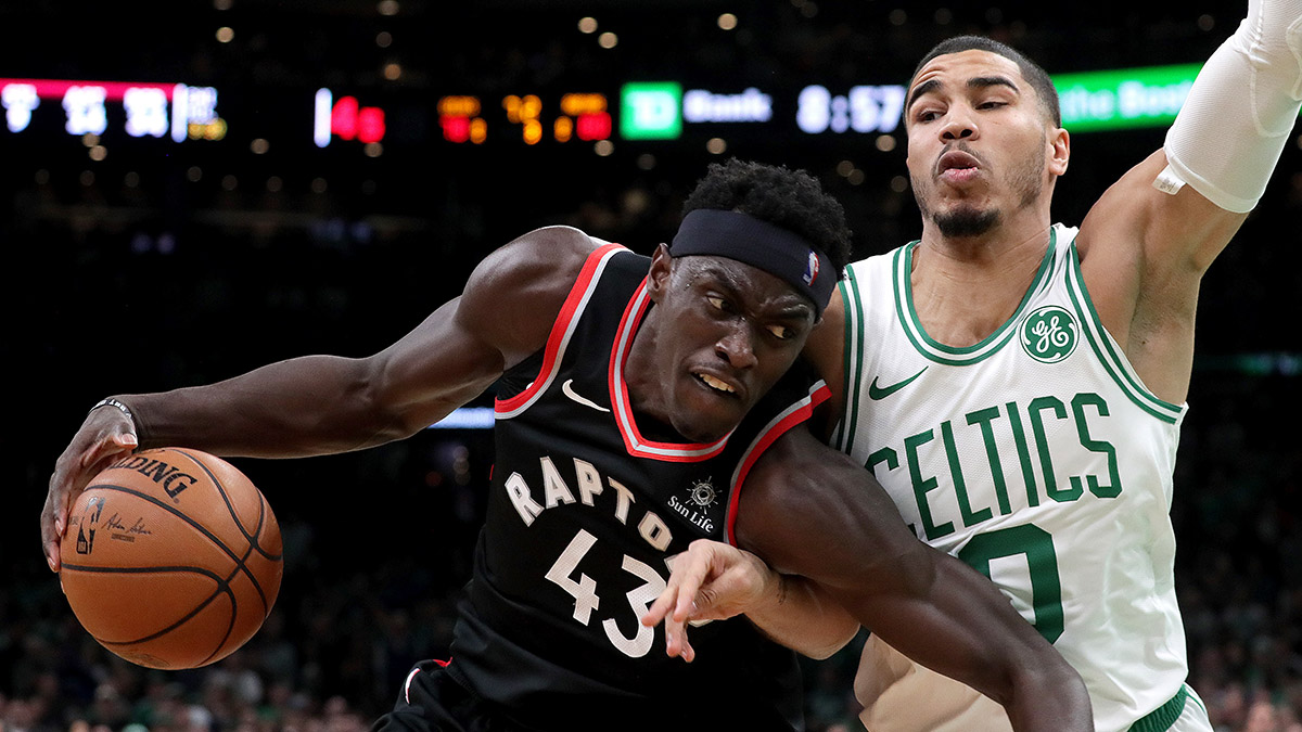 Celtics vs. Raptors Odds, Picks & Promotions: Bet $25, Win $250 if Either Tatum or Siakam Scores 10+ Points article feature image