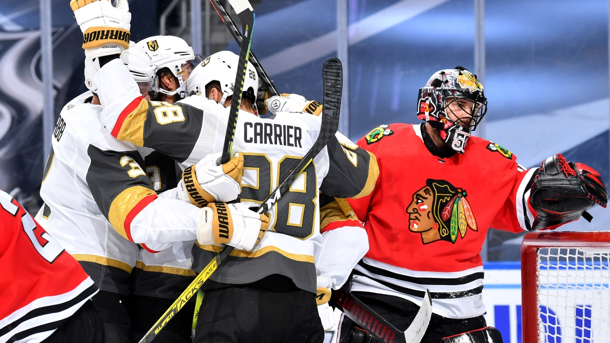 Golden Knights vs. Blackhawks Odds: Where To Find Betting Value On Game 4 article feature image
