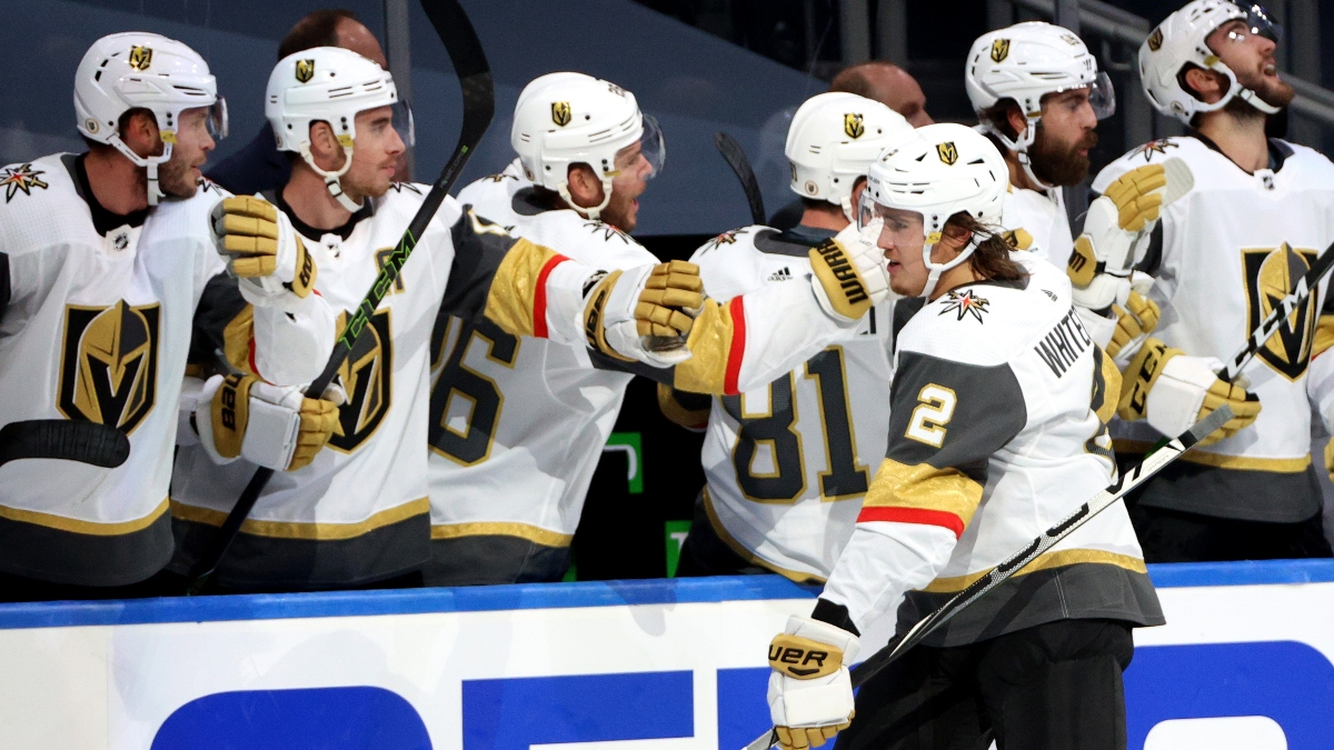 Sunday NHL Betting Picks: How We're Betting Stars vs. Avalanche and Canucks vs. Golden Knights (Aug. 30) article feature image