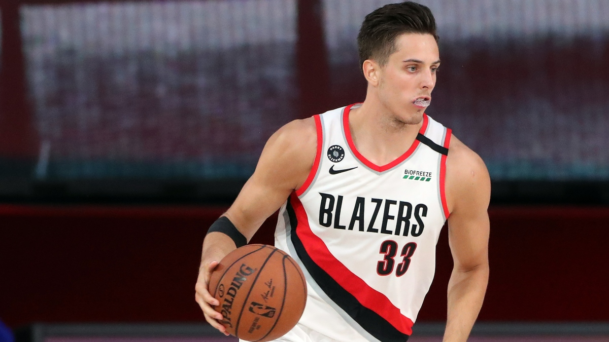 NBA Player Props Odds, Picks: Fade Rebound Totals from Zach Collins, Ricky Rubio & More (Tuesday, Aug. 11) article feature image