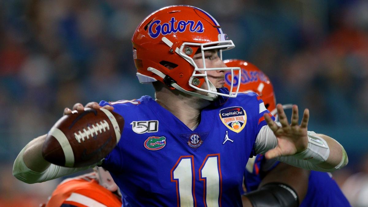 Florida vs. South Carolina CFB Promo: Bet $20, Win $125 if Florida Scores a Point! article feature image