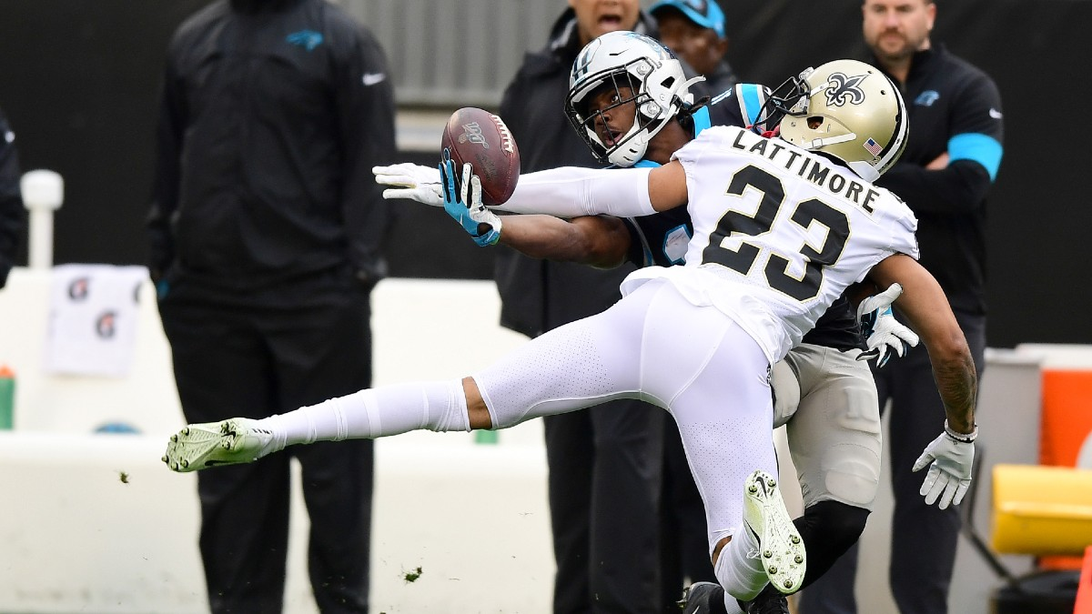 NFL Week 2 WR/CB Matchups: Will Marshon Lattimore Rough Up Henry Ruggs? article feature image