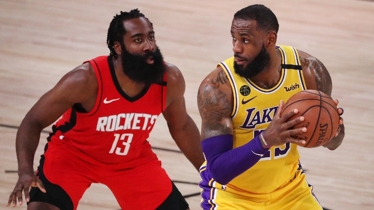 Nba Playoffs Betting Odds Picks Predictions Rockets Vs Lakers Game 5 Saturday Sept 12