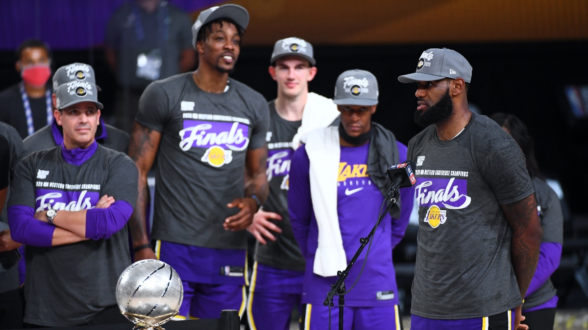 Moore: LeBron Leads Lakers Back To NBA Finals, Where They Belong article feature image