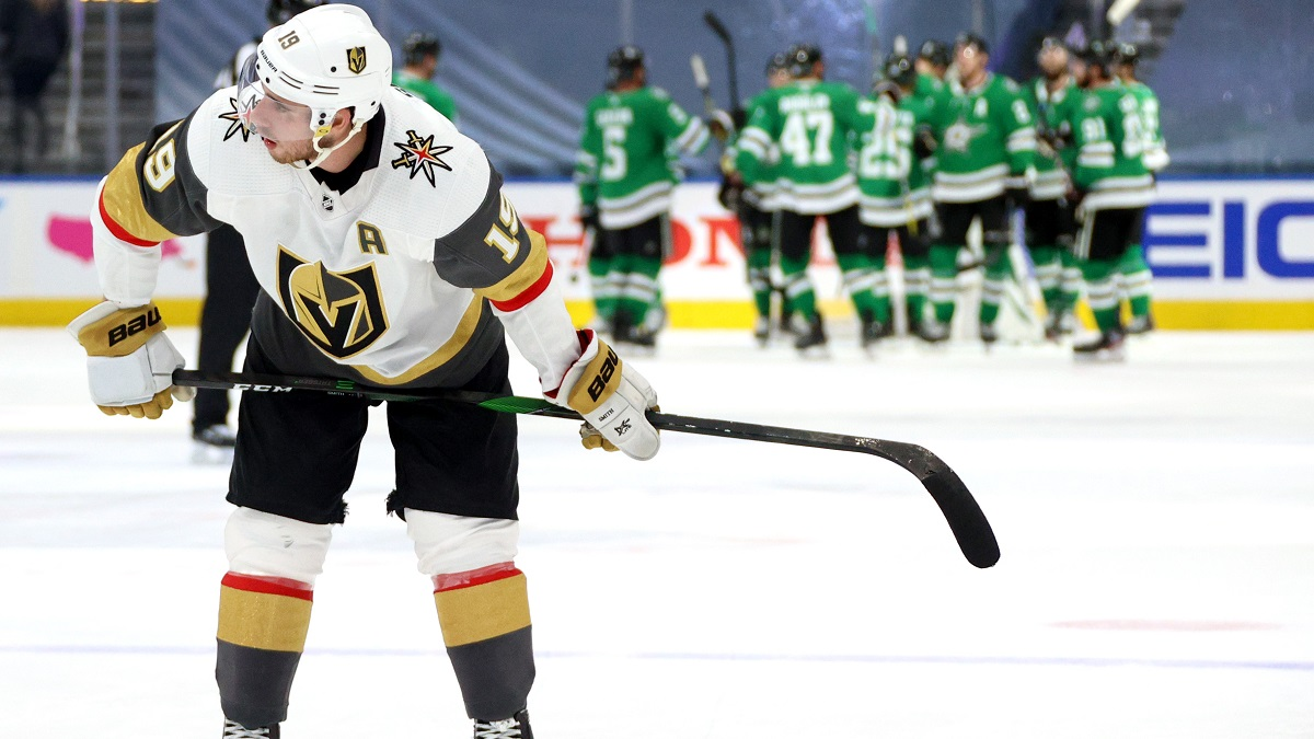 NHL Odds & Picks: Golden Knights vs. Stars Game 5 Totals, Prop Bets (Monday, Sept. 14) article feature image