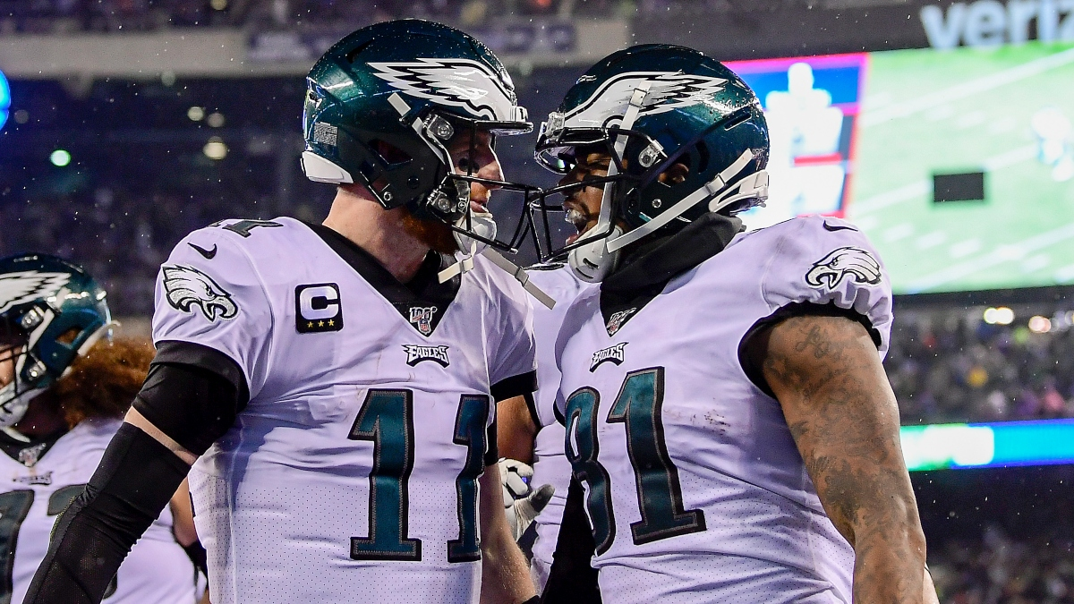 Eagles-Ravens Odds, Promos: Bet $20, Win $88 if the Eagles Score at Least 8 Points article feature image