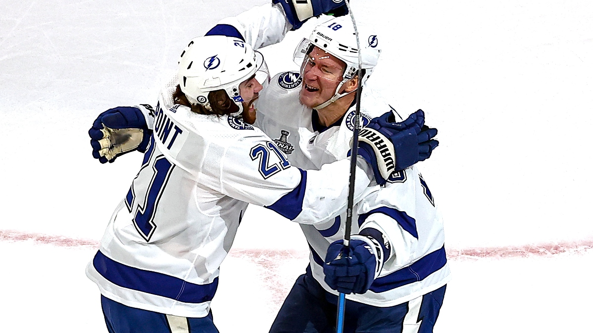 Stanley Cup Game 4 Picks: Best Bets for Stars vs. Lightning (Friday, Sept. 25) article feature image