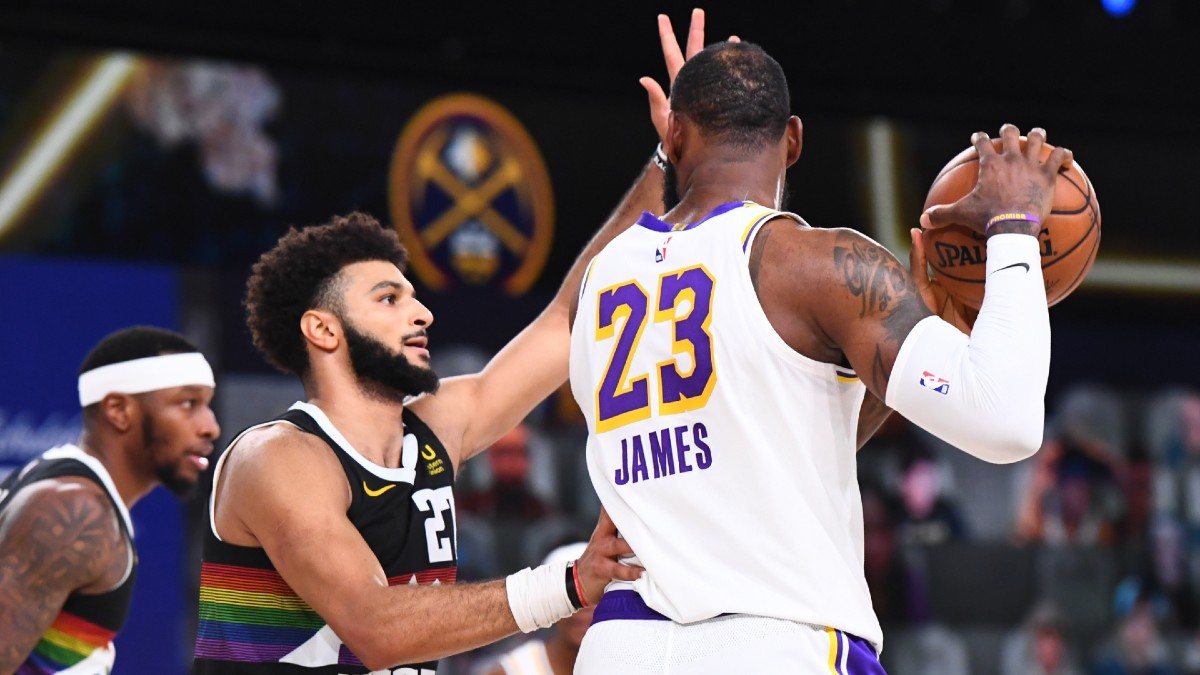 Lakers vs. Nuggets Odds & Picks: Trust LeBron James In Game 4 On Thursday Night article feature image