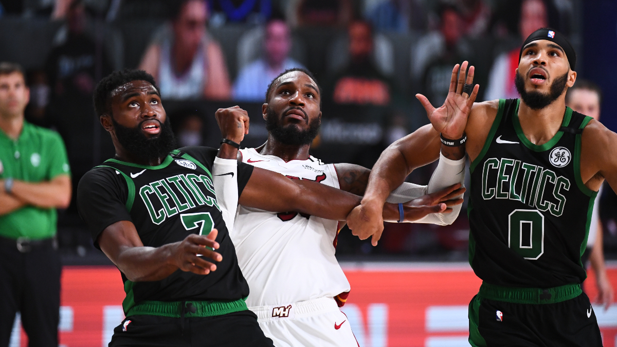 Updated NBA Playoffs Series Odds & Schedule: Heat Odds Surge After Game 4 Win vs. Celtics article feature image