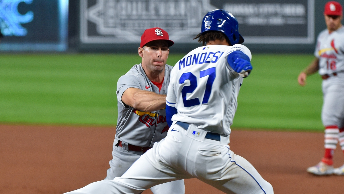 Tuesday MLB Betting Picks & Predictions: Our Best Bets for Cardinals vs. Royals, Athletics vs. Dodgers (Sept. 22) article feature image