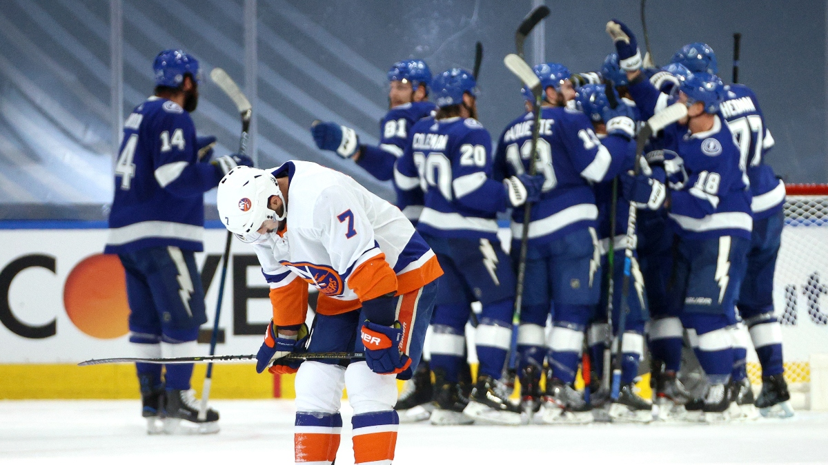 NHL Odds, Picks & Predictions: Tampa Bay Lightning vs. New York Islanders Game 3 (Friday, Sept. 11) article feature image