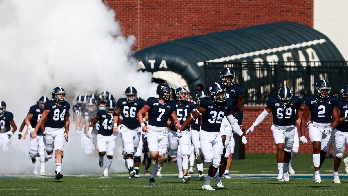 Early College Football Sharp Action for Week 3: Florida Atlantic vs. Georgia Southern Odds on the Move article feature image