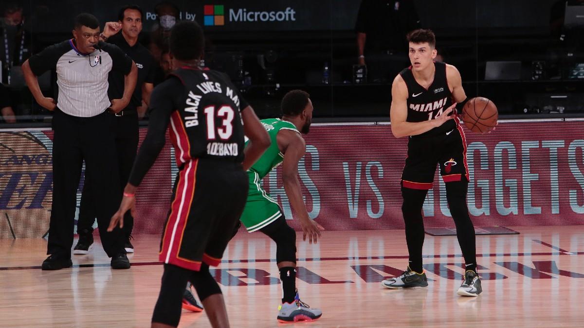 Nba Playoffs Betting Odds Picks Predictions Miami Heat Vs Boston Celtics Game 5 Friday Sept 25