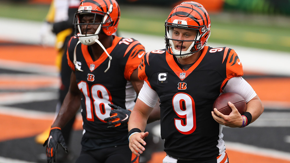 Browns vs. Bengals Promo: Bet $20, Win $150 if Joe Burrow Throws for at Least One Yard! article feature image