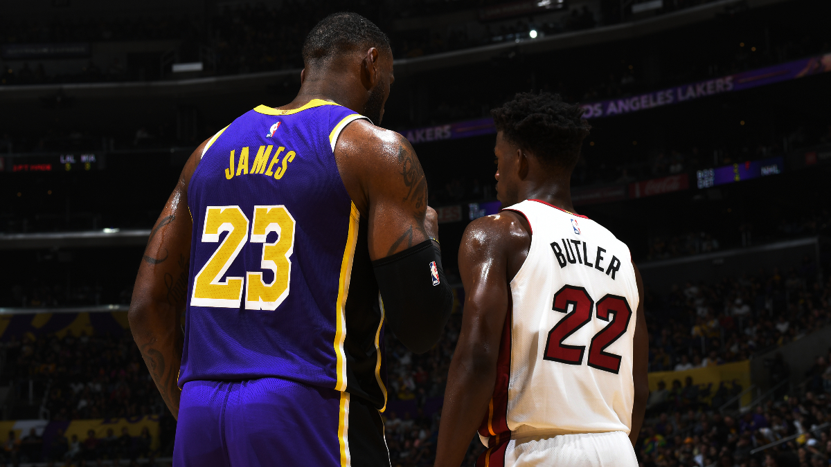 NBA Finals Betting Odds & Schedule: Lakers vs. Heat Series Line, MVP Odds, More article feature image