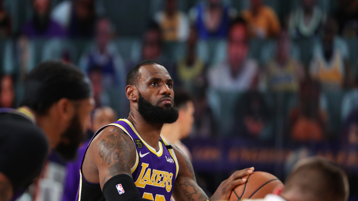 NBA Finals Betting Trends: How to Bet LeBron James Teams in Championship Games article feature image