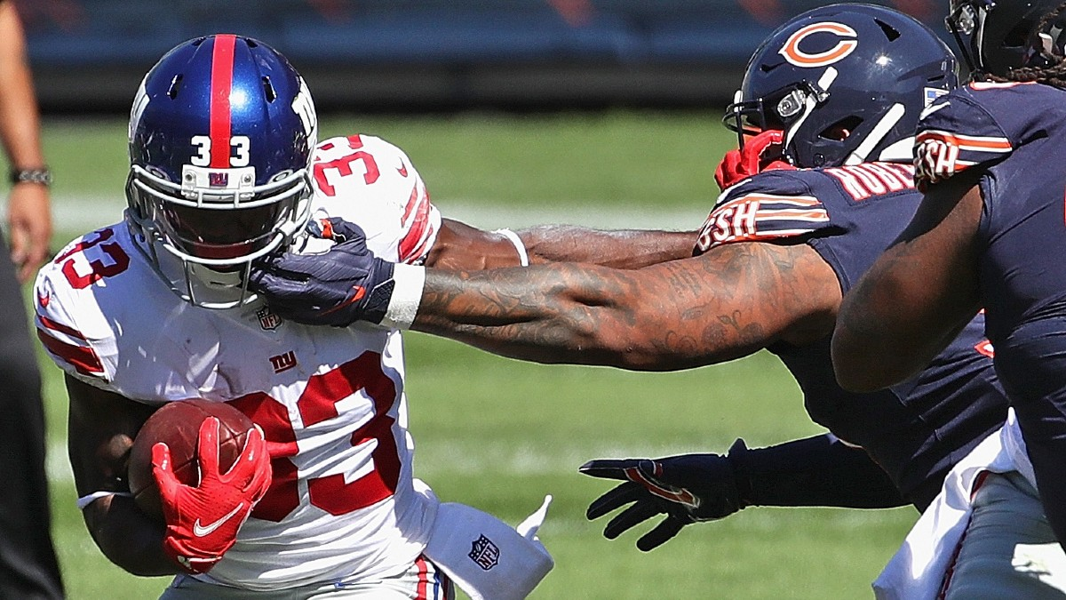 Fantasy Waiver Wire Pickups: RBs To Target After Christian McCaffrey & Saquon Barkley Injuries article feature image