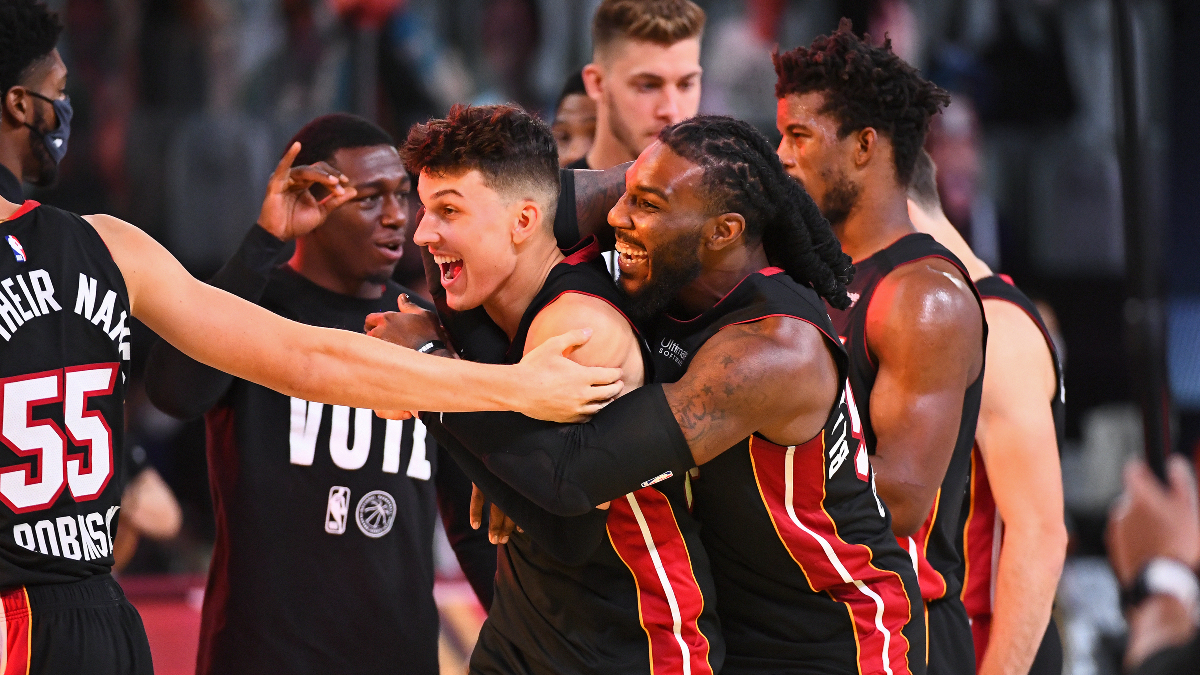 Heat Become Biggest Longshots To Make NBA Finals Since 2002 article feature image