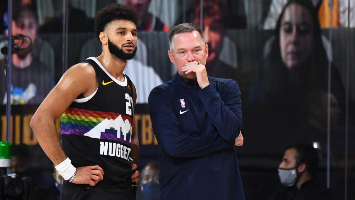 Updated NBA Playoffs Series Odds & Schedule: Nuggets on the Brink After Game 4 Loss article feature image