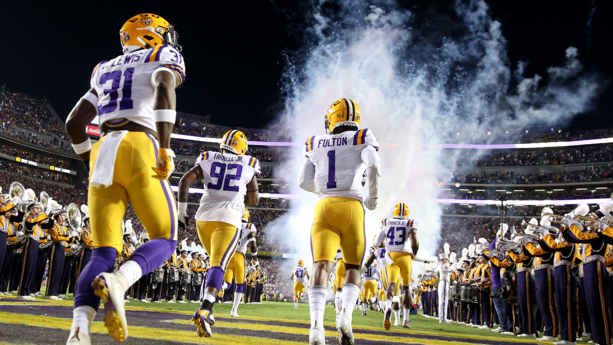 Mississippi State at LSU Betting Odds & Pick: A New Era Begins in Baton Rouge (Saturday, Sept. 26) article feature image