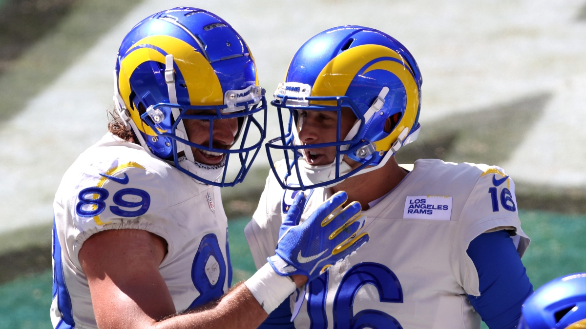 Rams vs. 49ers Odds & Promos: Bet $1, Win $100 if There's at Least 1 Touchdown article feature image