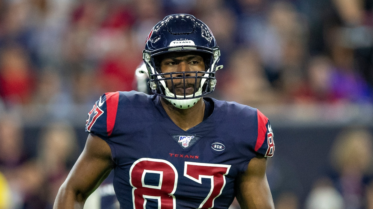 NFL Prop Bets: Expect Low Receiving Numbers From Darren Fells in Texans-Chiefs on Thursday Night article feature image