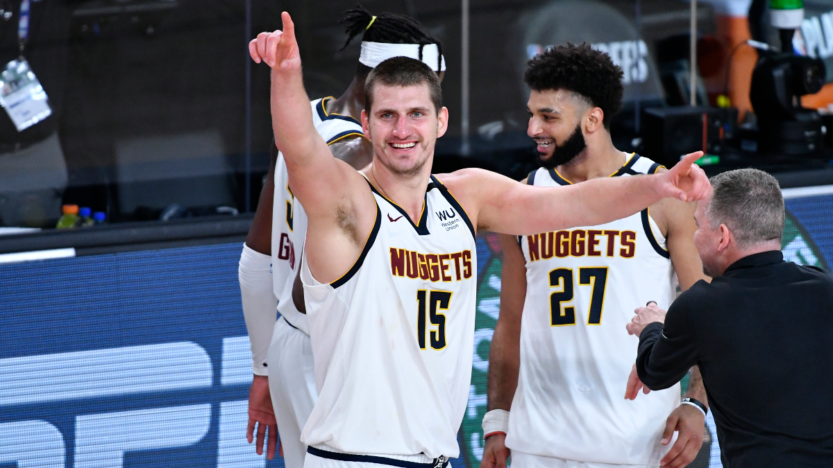 Denver Nuggets Promo: Bet $20, Win $125 if Nikola Jokic Scores at Least One Point! article feature image