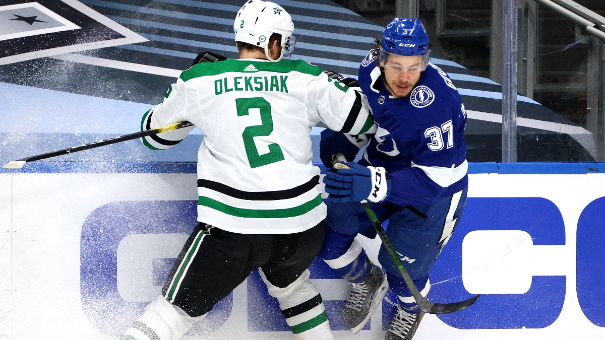 Wednesday NHL Odds, Picks and Predictions: Tampa Bay Lightning vs. Dallas Stars Stanley Cup Game 3 Preview (Sept. 23) article feature image