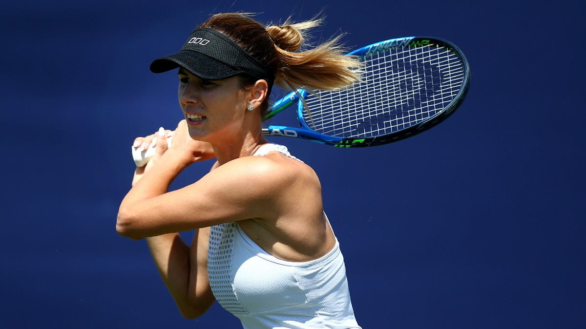 Monday US Open WTA Betting Preview: Can Pironkova Keep Her Surprise Run Going? (Sept. 7) article feature image
