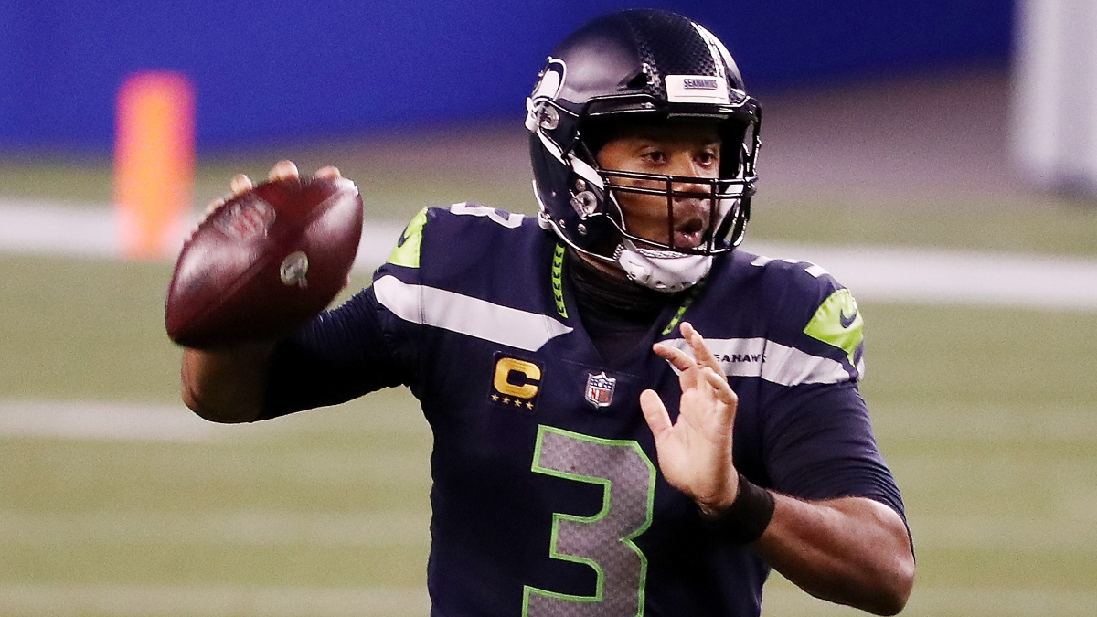 Updated Russell Wilson NFL MVP Odds: Betting Favorite Poised for Big Game Sunday vs. Dolphins article feature image