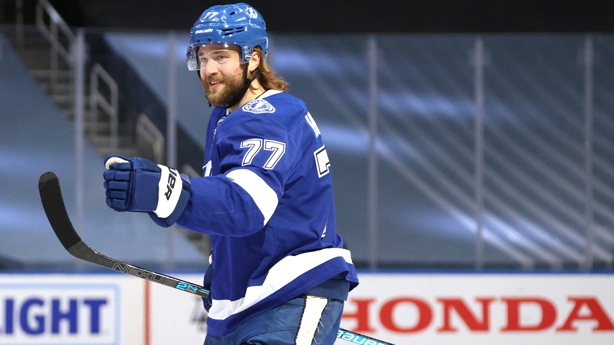 Saturday Stanley Cup Game 1 Odds, Picks and Predictions: Tampa Bay Lightning vs. Dallas Stars (Sept. 19) article feature image