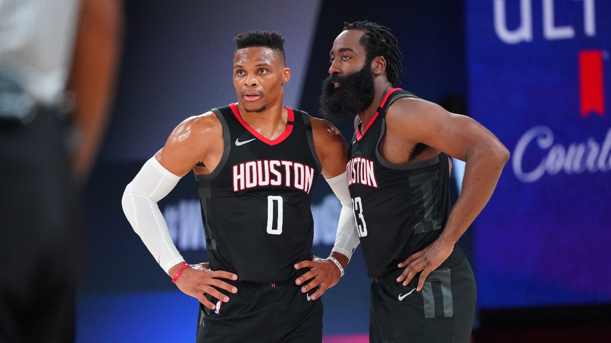 Rockets vs. Lakers PRO Report: Sharp Action, Big Bets Moving Game 5 Over/Under (Saturday, Sept. 12) article feature image