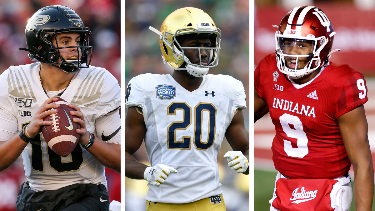 College Football Week 11: The Best Sportsbook Promos for Indiana, Notre Dame & Purdue article feature image