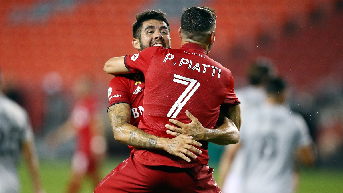 Wednesday MLS Betting Odds, Picks & Predictions: Toronto FC vs. New York Red Bulls (Oct. 14) article feature image