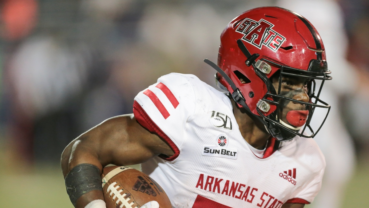 Arkansas State vs. Georgia State Promos: Bet $5, Win $100 if the Red Wolves Cover +50! article feature image