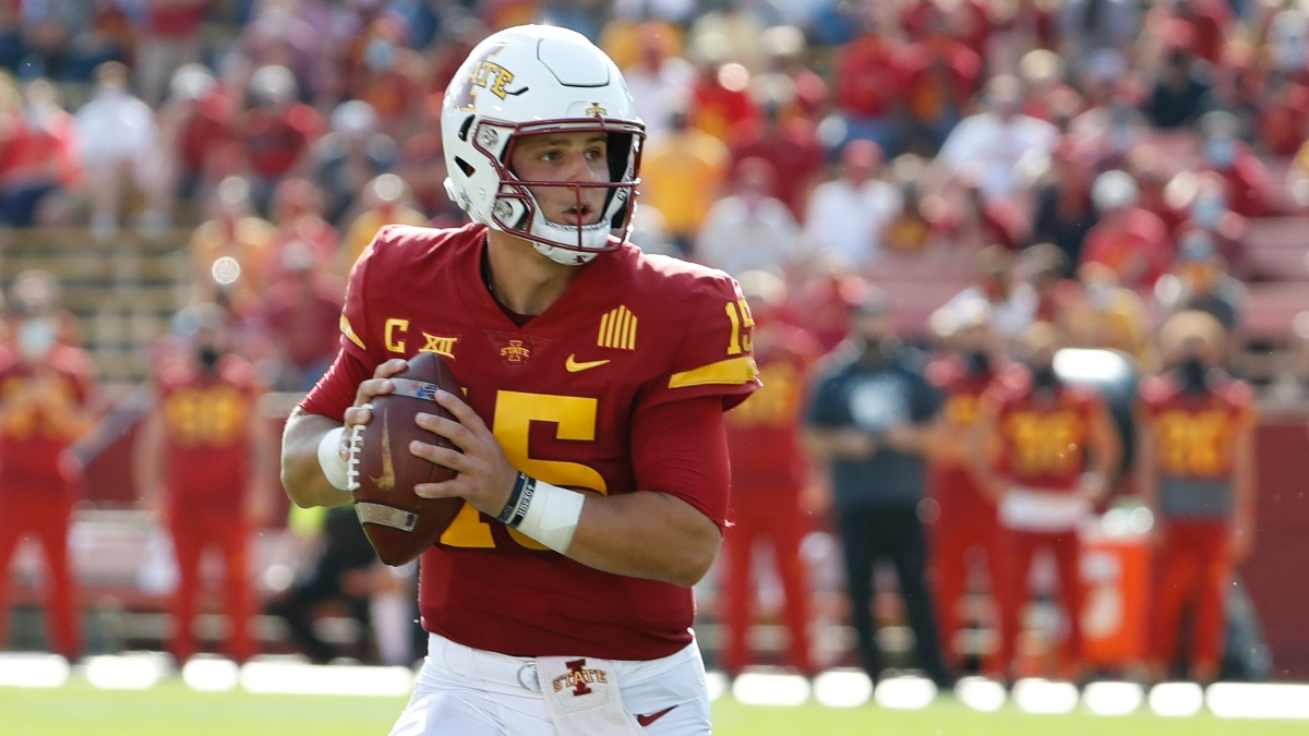 Oklahoma State vs. Iowa State Betting Odds & Pick: Will Matt Campbell and the Cyclones Cover on the Road? (Oct. 24) article feature image