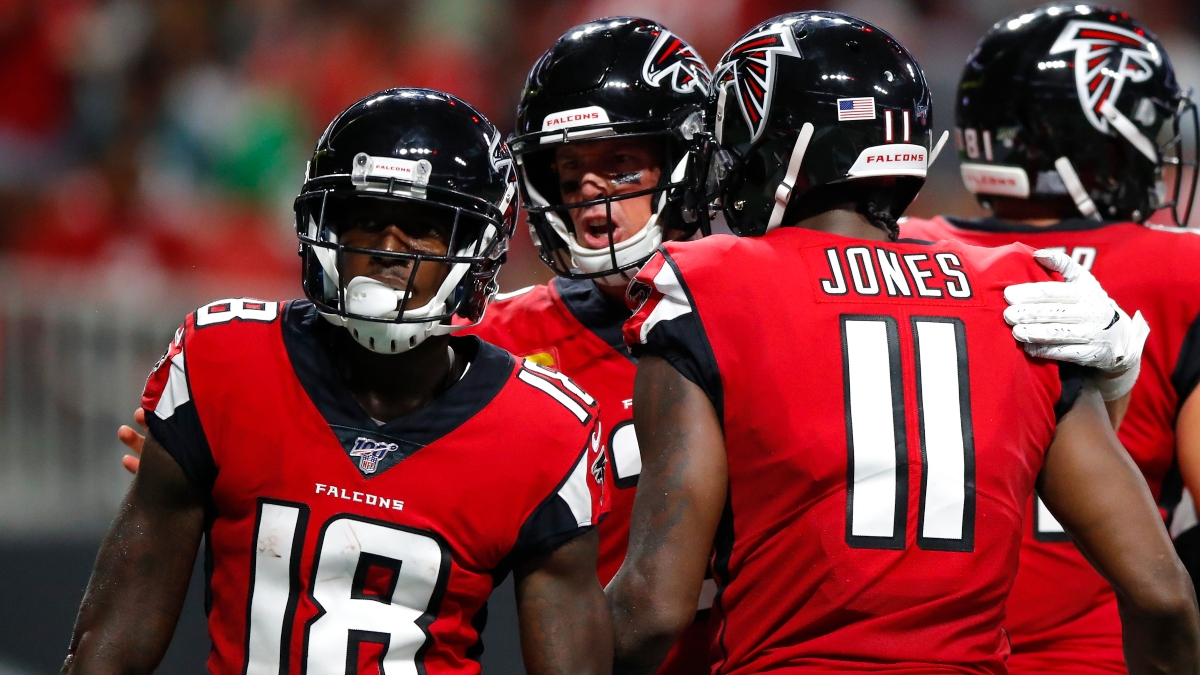 Falcons vs. Raiders Odds & Picks: How Julio Jones Impacts Our Betting Position article feature image