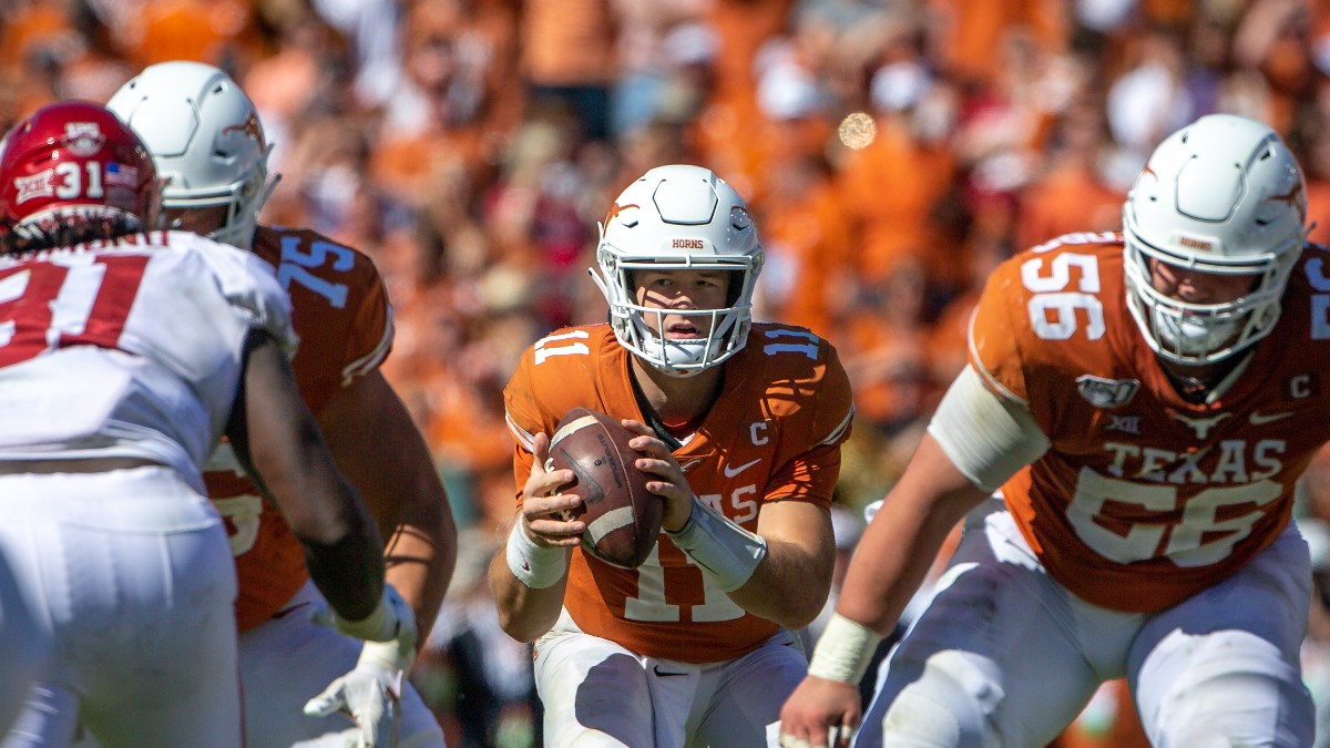 Texas at Oklahoma Betting Odds & Pick: Which Team Will Bounce Back in the Red River Showdown? (Oct. 10) article feature image